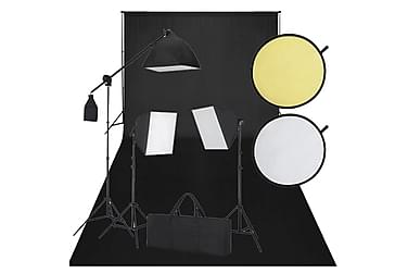Studioutrustning svart