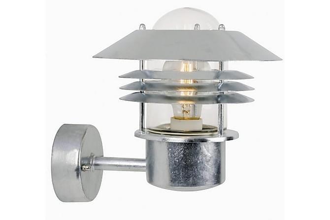 Nordlux Vejers Fasadbelysning 22 cm - Galvaniserat Stål - Belysning - Utomhusbelysning - Fasadbelysning