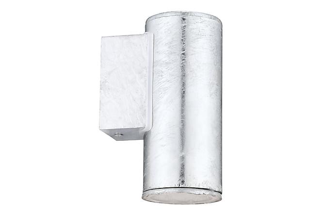 Eglo Riga Vägglampa LED - Silver - Belysning - Utomhusbelysning - Spotlights & downlight utomhus