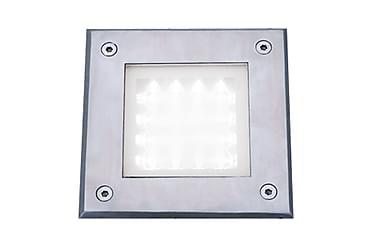 Utelampa LED Recessed Walkover Vit