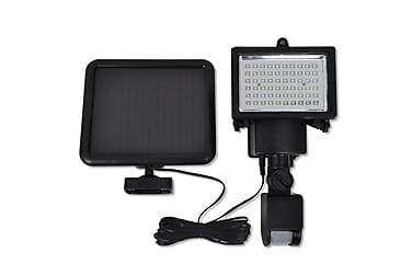 Strålkastare LED utomhusbruk sensor solpanel