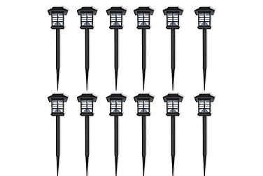 Backer Markbelysning LED Solenergi 12-pack