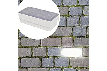 Lynell Markbelysning LED 10x20x7 cm 2-pack