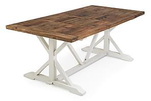Matbord Whitewash : Matbord beställ ett runt bord och matsalsbord på trademax