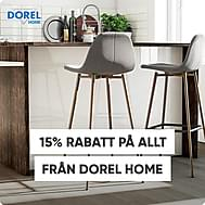 15% på allt från Dorel Home