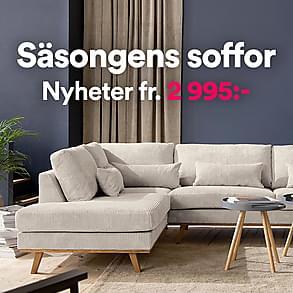 Säsongens soffor - Nyheter fr. 2 995:-