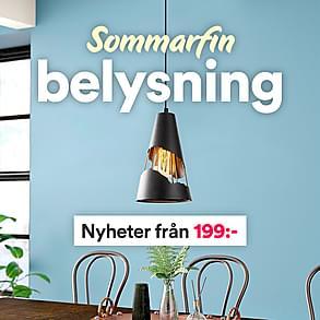 Sommarfin belysning - Nyheter från 199:-