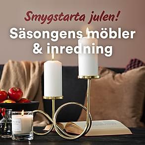 Smygstarta julen - säsongens möbler & inredning!