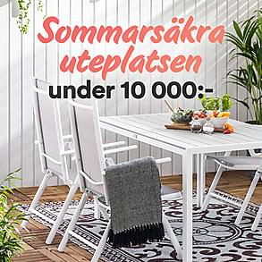 Sommarsäkra uteplatsen - under 10 000:-