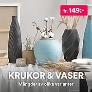 Krukor & vaser