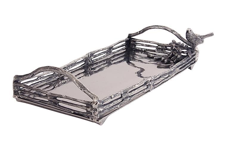 Bricka 24x47 cm Silver - AG Home & Light - Heminredning - Dekoration - Brickor & fat