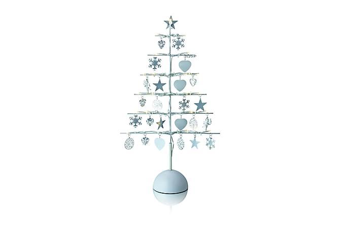 Borken Dekoration Gran LED Silver - Markslöjd - Heminredning - Dekoration - Julpynt & juldekoration