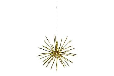 Hydra Hängande Dekoration LED 50 cm Guld