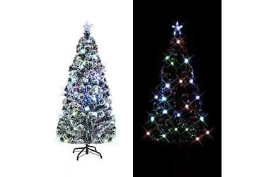 Julgran med fot och LED 180 cm 220 grenar