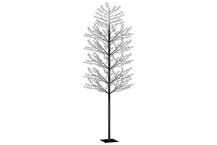 Plastgran 2000 LED körsbärsblommor kallvitt ljus 500 cm - Svart - Heminredning - Dekoration - Julpynt & juldekoration