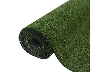 Konstgräsmatta 1,5x5 m/7-9 mm grön