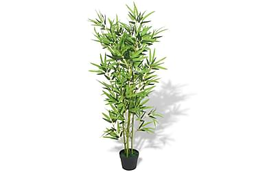 Konstväxt Bambu med kruka 120 cm grön