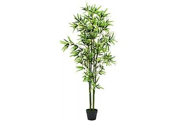 Konstväxt bambu med kruka 175 cm grön