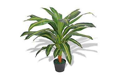 Konstväxt Dracena med kruka 90 cm grön