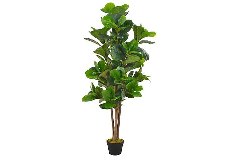 Konstväxt Fiolfikus med kruka 152 cm grön - Grön - Heminredning - Dekoration - Konstgjorda växter