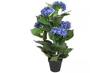Konstväxt Hortensia med kruka 60 cm blå