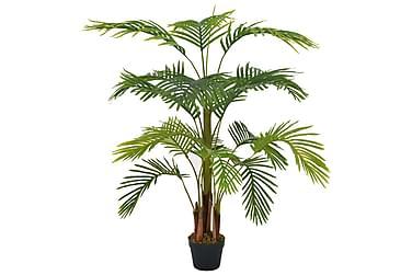 Konstväxt Palm med kruka 120 cm grön