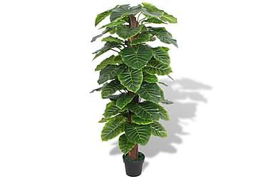 Konstväxt Taro med kruka 145 cm grön