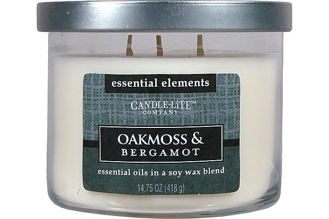 Essential Doftljus 418g - Oakmoss & Bergamot - Heminredning - Dekoration - Doftljus & rumsdofter