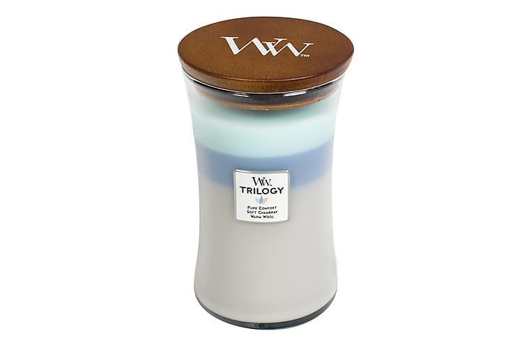 WoodWick Trilogy Large - Woven Comfort - Heminredning - Dekoration - Doftljus & rumsdofter