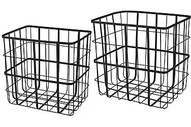 Wirekorgar till Tidningar eller Förvaring Set om 2