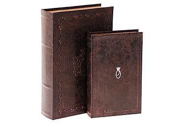 Merrills Bokförvaring 33 cm Classic Set om 2