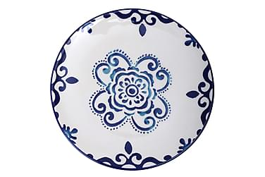 Kosova Dessertfat 6-pack 21 cm Keramik