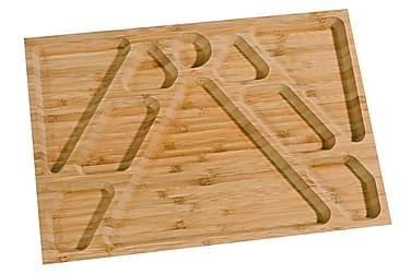 Kosova Frukostbricka 34 cm Bambu