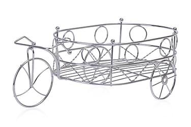 Kosova Fruktfat 38 cm Cykel m Vagn Rostfritt Stål