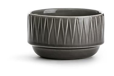 Coffee & More skål grå