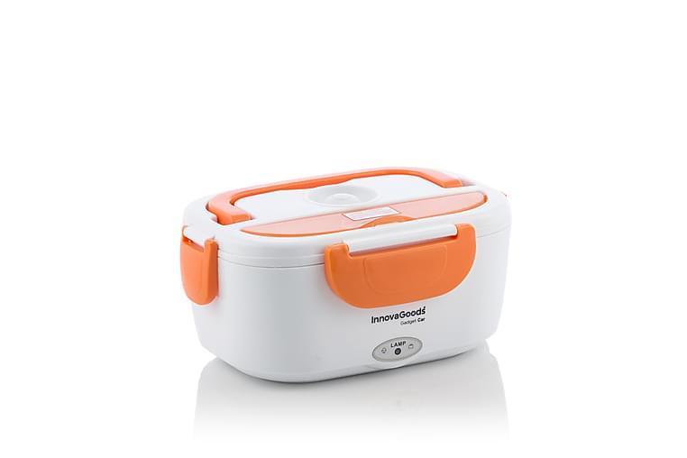 Gadget Car Lunchlåda Elektrisk till Bil Orange/Vit - InnovaGoods - Heminredning - Husgeråd & kökstillbehör - Skål & bunke