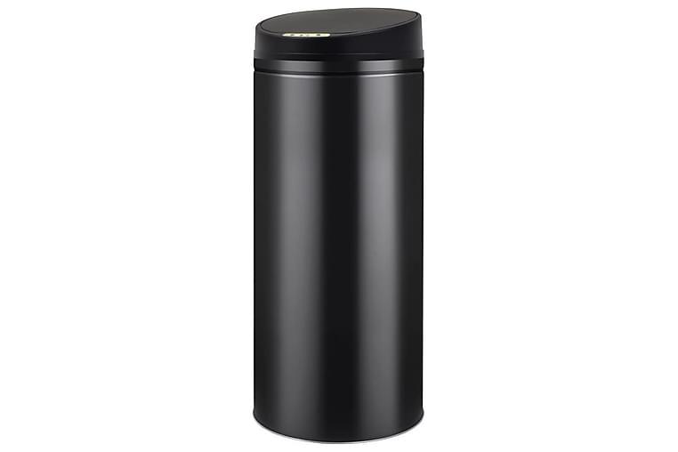 Soptunna med automatisk sensor 62 L svart