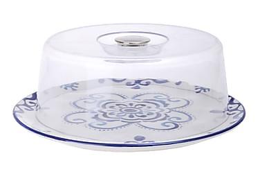 Kosova Tårtfat med Lock 32 cm Runt Keramik