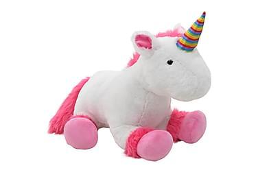 Gosedjur enhörning plysch rosa och vit