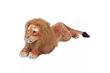 Lejonleksak plysch brun XXL