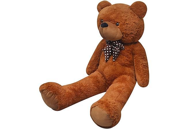 Nallebjörn i brun plysch 260 cm - Brun - Heminredning - Inredning barnrum - Dekoration barnrum