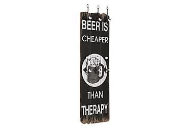 Lavanya Klädhängare 6 Krokar 120x40 cm Beer Cheaper