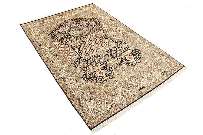 Orientalisk Silkesmatta Kashmir 123x182 - Flerfärgad - Heminredning - Mattor - Äkta silkesmattor
