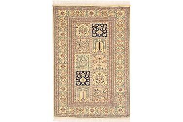 Orientalisk Silkesmatta Kashmir 77x112