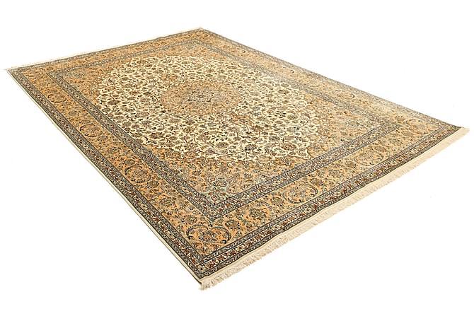 Stor Silkesmatta Kashmir 212x315 - Beige|Brun - Heminredning - Mattor - Äkta silkesmattor
