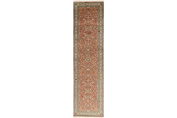 Stor Silkesmatta Kashmir 79x306 - Grå - Heminredning - Mattor - Äkta silkesmattor