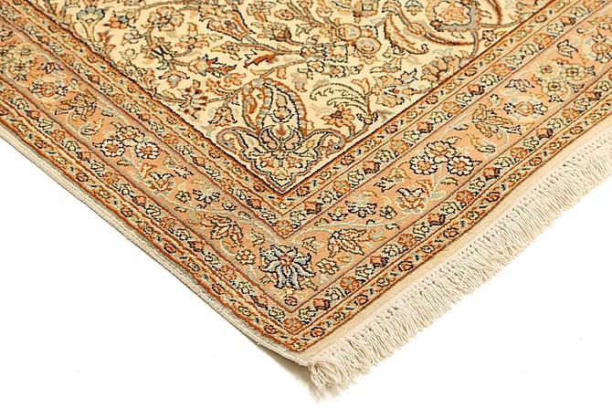 Stor Silkesmatta Kashmir 95x164 - Beige|Brun - Heminredning - Mattor - Äkta silkesmattor