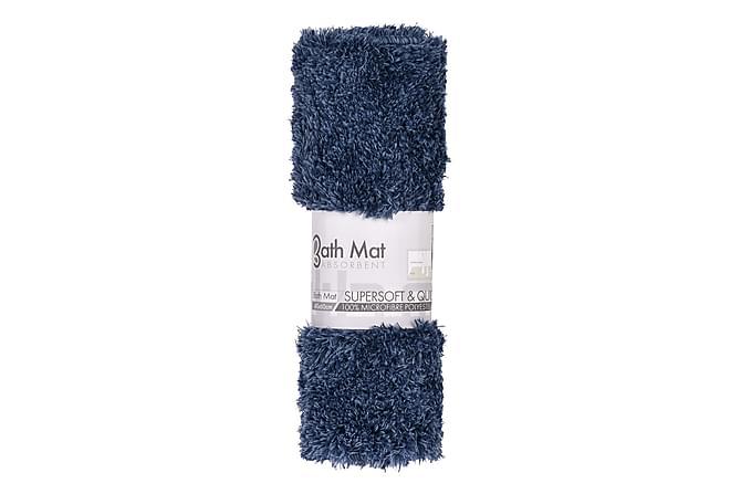 Milastro Badrumsmatta 40x60 - Blå - Heminredning - Mattor - Badrumsmatta