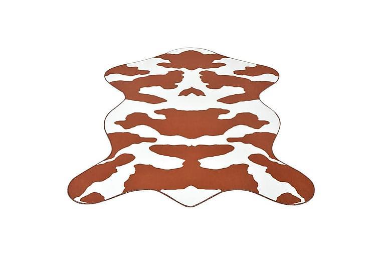 Formad matta 110x150 cm brun kohud - Brun - Heminredning - Mattor