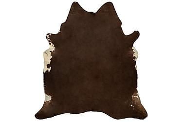 Matta äkta kohud 150x170 cm brun